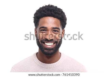 Beautiful afro man