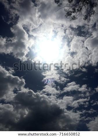 Beautiful afternoon sun #716650852