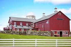 Beautiful American Farmhouse and Farm
