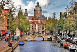 beautiful Amsterdam canals