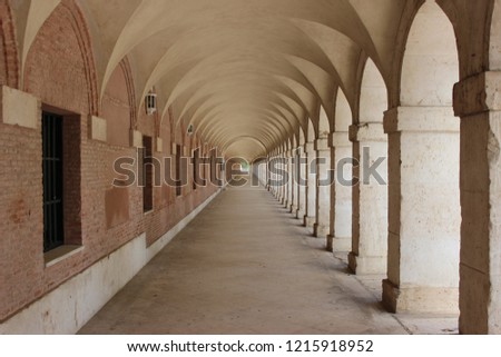 Beautiful and historical perspective in Aranjuez #1215918952