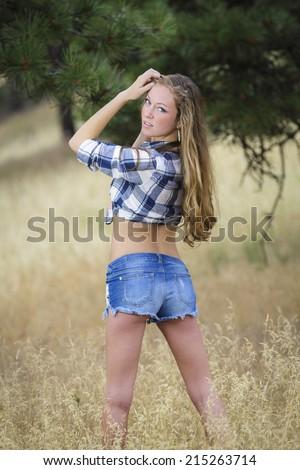 teen girl tied up