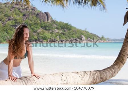 Beautiful Anse Volbert, Praslin, Seychelles, Africa