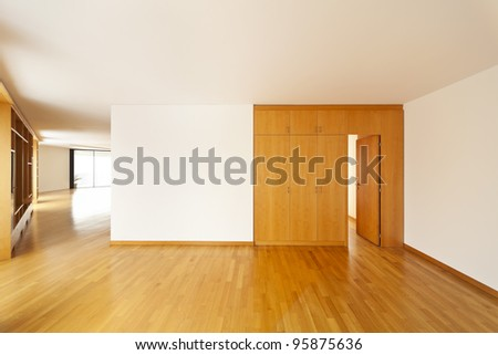 beautiful apartment, interior hardwood floors, closet