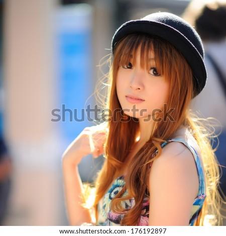 Beautiful asian girl #176192897