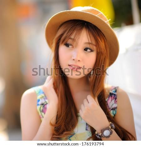 Beautiful asian girl #176193794