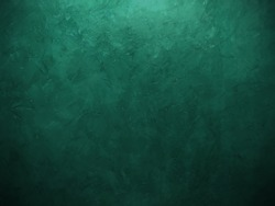 beautiful background blue painting wall with brush stoke, gradient background painted wall with brush texture and beautiful bright green color lighting, dark fancy turquoise backdrop