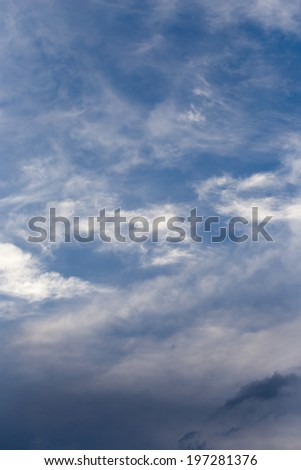 beautiful background of clouds #197281376
