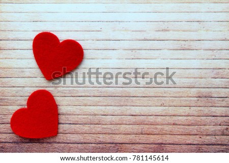 Beautiful background with red hearts. Best postcard for lovers. Hapy Valentine`s Day! I love you!