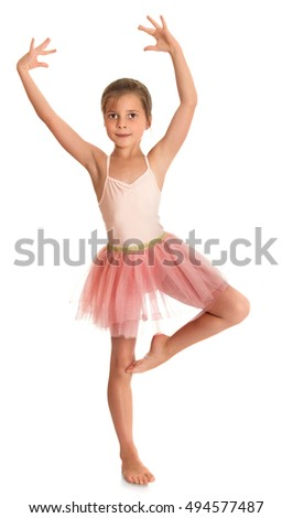 864a637f6 Royalty-free Slender ballerina girl in a light dress…  384738727 ...