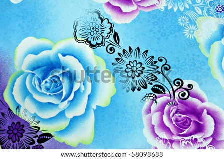 beautiful batik background
