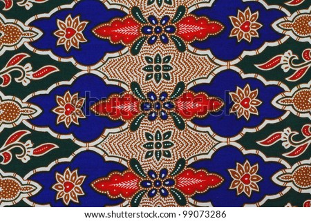 Beautiful batik patterns that become traditional clothes malaysia