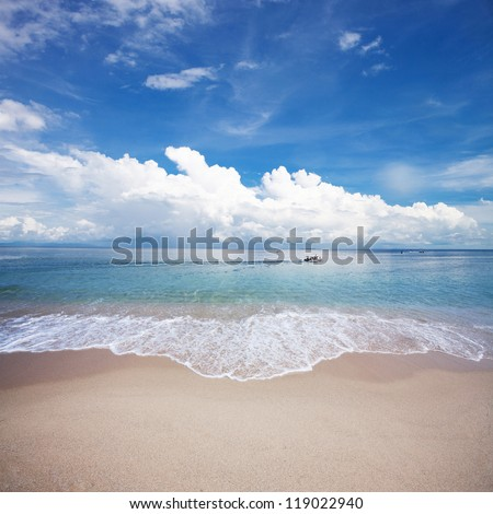beautiful beach #119022940
