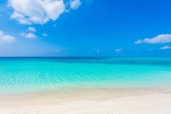 Beautiful beach in Miyakojima Island, Okinawa.