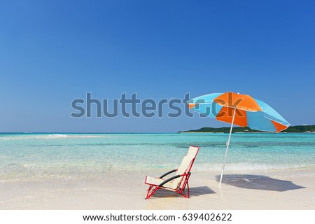 Beautiful beach in Okinawa #639402622