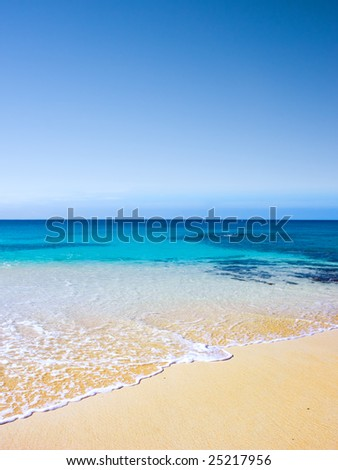 Beautiful Beach on Ascension Island