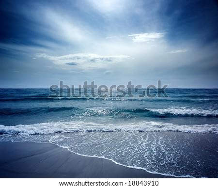 Beautiful Beach on Sea Lion Island