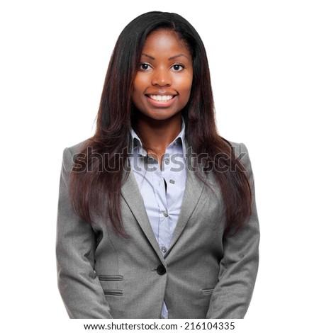 Beautiful black businesswoman portrait #216104335