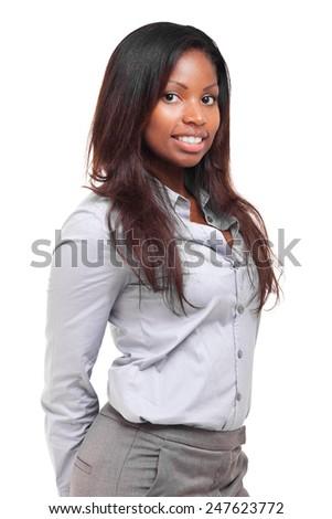 Beautiful black businesswoman portrait #247623772