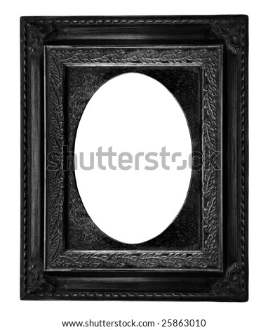Beautiful black frame