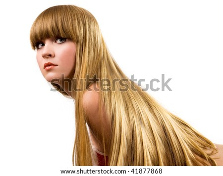 Lifestyle - Pagina 5 Stock-photo-beautiful-blond-girl-with-long-hair-portrait-41877868