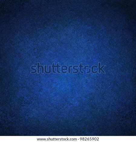 beautiful blue background illustration design with elegant dark blue vintage grunge background texture and black vignette frame on border with empty blank copy space for ad or brochure template