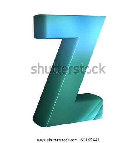 z 3d logo design  3d Letter Z Letter z.
