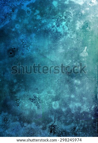 beautiful blue grunge background
