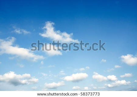 beautiful blue sky #58373773