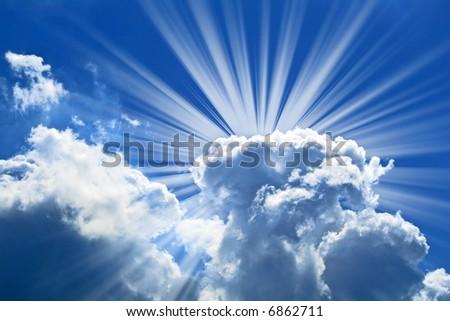 beautiful blue sky stock photo 6862711   shutterstock