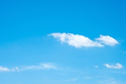Beautiful blue sky clouds for background. Blue sky.