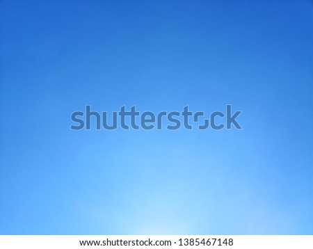 Beautiful blue sky landscape background and wallpaper