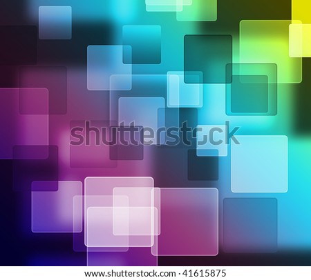 Beautiful blur square light background