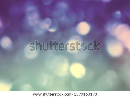 Beautiful bokeh abstract glow glittery background Stock fotó ©