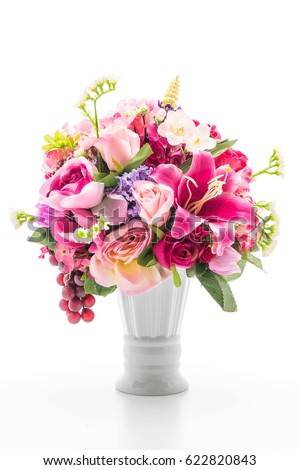 Shutterstock beautiful bouquet flower isolated on white background