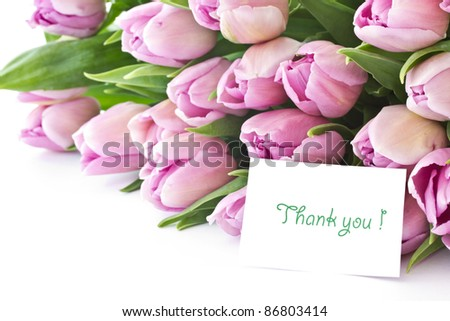beautiful bouquet of purple tulips from the set