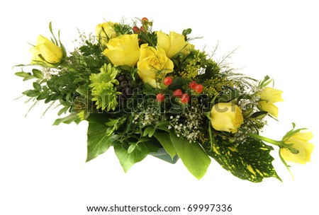 white and yellow rose bouquets. ouquet of yellow roses