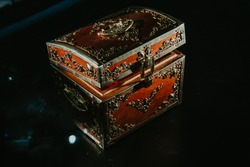 beautiful box on the table