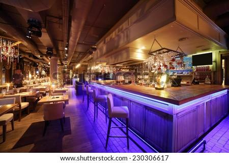 beautiful brand new european restaurant in downtown