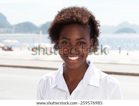 Beautiful brazilian woman at Rio de Janeiro