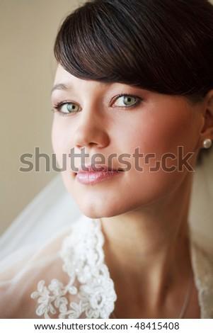 beautiful bride portrait