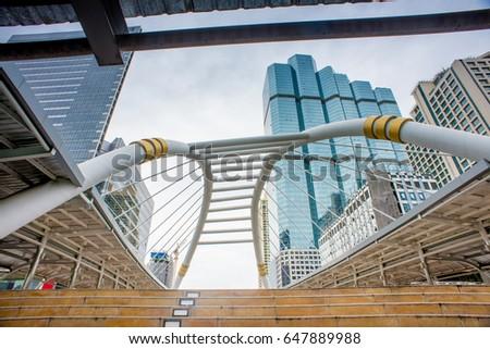Beautiful bridge in the city #647889988