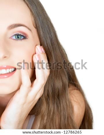 makeup tutorials for green eyes. girlfriend twenties makeup.