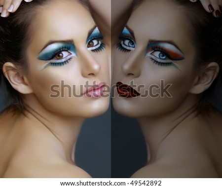 turquoise eye makeup looks. eyes make-up in turquoise