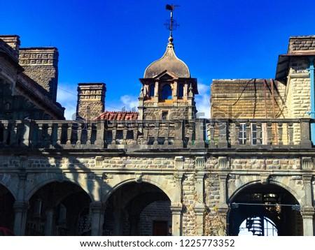 beautiful building architecture  #1225773352