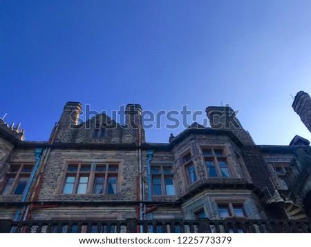 beautiful building architecture  #1225773379