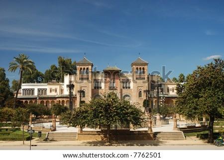 Beautiful building in Sevilla, Spain