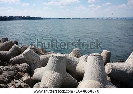 Beautiful Bulgarian seascape #1044864670
