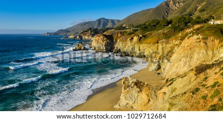 Beautiful California Coast - Big Sur, Monterey County, California