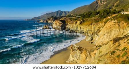Beautiful California Coast - Big Sur, Monterey County, California #1029712684